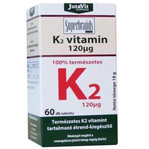 Jutavit K2-vitamin tabletta – 60db