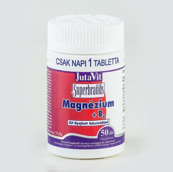 Jutavit Magnézium + B6 filmtabletta – 50db