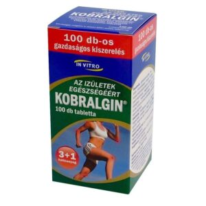 Kobralgin tabletta – 100db
