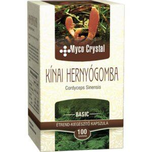 Myco Crystal Kínai hernyógomba – Cordyceps  gyógygomba – 100 db