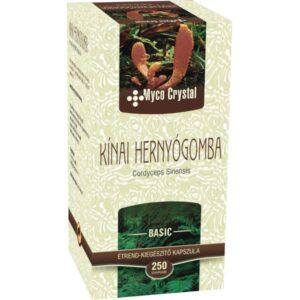 Myco Crystal Kínai hernyógomba – Cordyceps  gyógygomba – 250 db