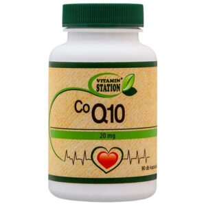 Vitamin Station Co Q10 20mg kapszula – 90db