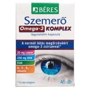 Béres Szemerő Omega-3 komplex lágyzselatin kapszula - 30+15db