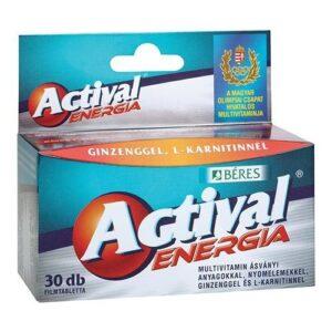 Béres Actival Energia tabletta – 30db filmtabletta
