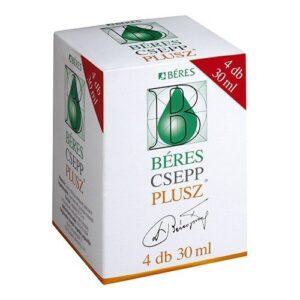 Béres Csepp Plusz – 4x30ml