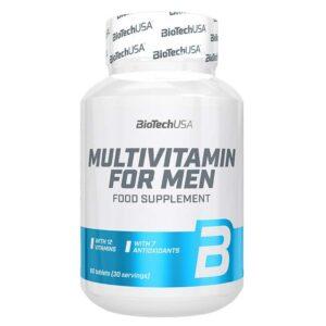 BioTech USA Multivitamin for Men tabletta - 60 db