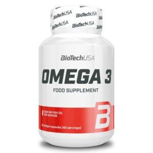 BioTech USA Omega 3 gélkapszula - 90db