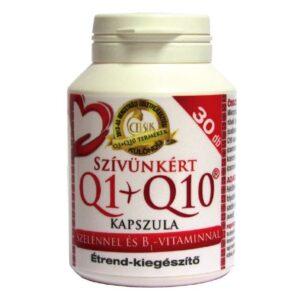 Celsus Szívünkért Q1+Q10+szelén+B1-vitamin kapszula - 30db