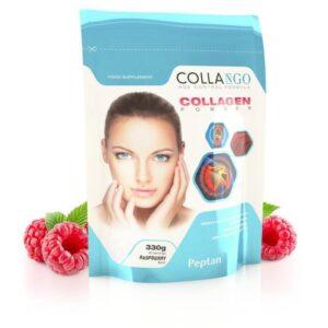 Collango Collagen – kollagén por málna – 330g