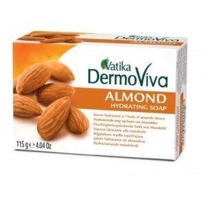 Dabur DermoViva Almond hidratáló szappan – 115g
