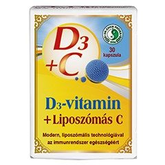 Dr. Chen D3-vitamin + Liposzómás C-vitamin kapszula - 30db
