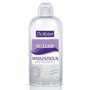 Dr. Kelen relaxáló, lazító masszázsolaj - 500ml