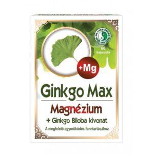 Dr. Chen Ginkgo Max Magnéziummal kapszula – 60db