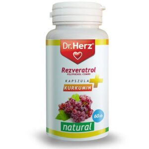 Dr. Herz Resveratrol kapszula – 60db