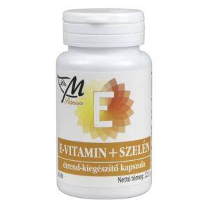 Dr. M Prémium E-vitamin+szelén kapszula – 60db