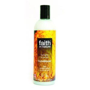 Faith in Nature kurkuma és citrom hajkondícionáló – 400ml