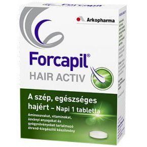 Forcapil Hair Activ tabletta – 30db