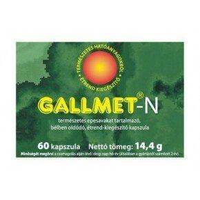 Gallmet-N kapszula – 60 db