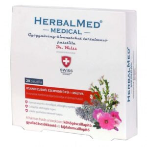 Herbal Swiss Medical Pasztilla – 20db