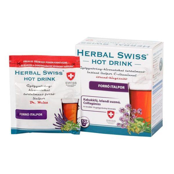 Herbal Swiss Hot Drink Instant italpor – 12db