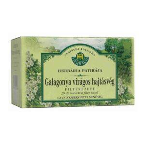 Herbária galagonya virágos hajtásvég tea - 20x1g borítékolt filter/doboz