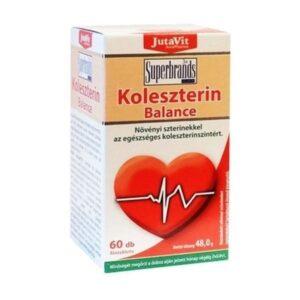 Jutavit Koleszterin balance tabletta - 60db
