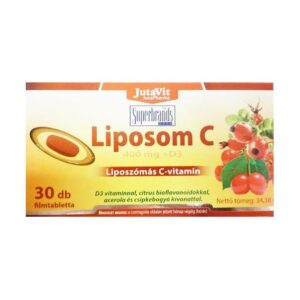 Jutavit Liposom C-vitamin 400mg tabletta – 30db