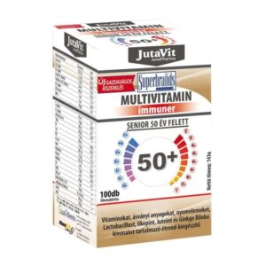 Jutavit Multivitamin Senior 50+ tabletta – 100db