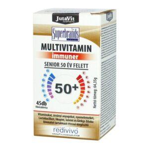 Jutavit Multivitamin Senior 50+ tabletta – 45db