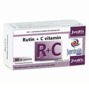 Jutavit Rutin + C-vitamin tabletta - 60db