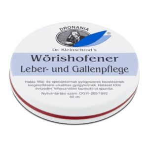 Leber- und Gallenpflege tabletta máj és epe panaszokra – 60db