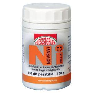 Növényi inulin pasztilla - 180db