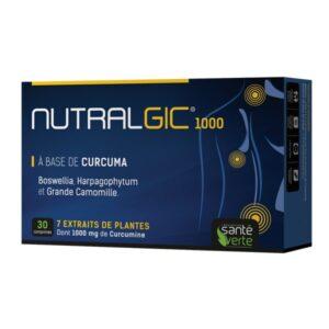 Nutralgic 1000 fájdalomcsillapító és gyulladáscsökkentő tabletta – 30db