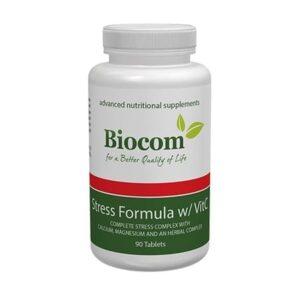 Biocom Stress Formula w/ VitC tabletta – 90db