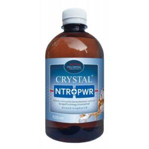 Crystal NTR+PWR Silver víztisztító berendezésen szűrve Grapefruitmag-kivonattal - 500 ml