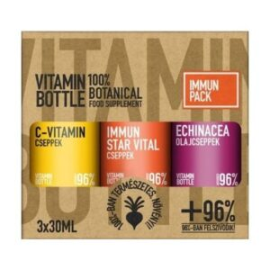 Vitamin Bottle Immune Pack – 3x30ml