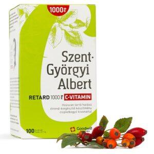 Goodwill Szent-Györgyi Albert Retard C-vitamin 1000mg tabletta – 90db