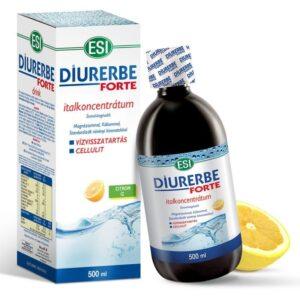 ESI Diurerbe Forte italkoncentrátum, citrom ízben – 500ml