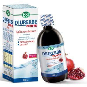 ESI Diurerbe Forte italkoncentrátum, gránátalma ízben – 500ml