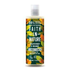 Faith in Nature Grapefruit és Narancs hajkondícionáló – 400ml