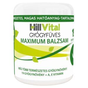 HillVital Gyógyfüves Maximum fájdalomcsillapító balzsam – 250ml