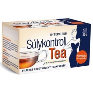 Interherb Súlykontroll tea – 25 filter