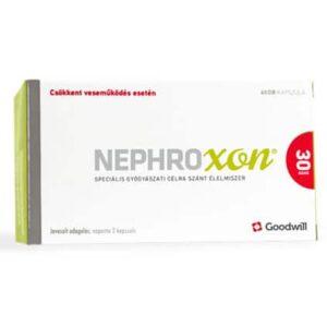 Nephroxon speciális gyógyászati célra szánt élelmiszer csökkent veseműködés esetén kapszula - 60db
