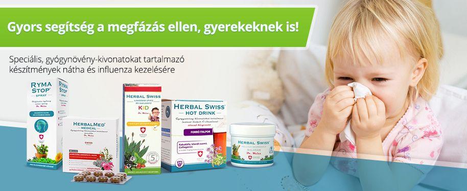 Herbal Swiss Medical termékek megfázás, nátha és influenza kezelésére!