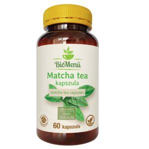 Biomenü Bio Matcha tea kapszula - 60db