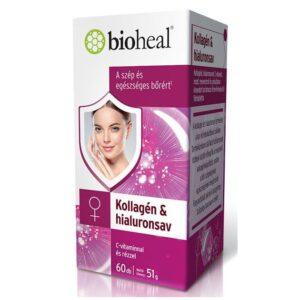 Bioheal Kollagén & Hialuronsav filmtabletta - 60db