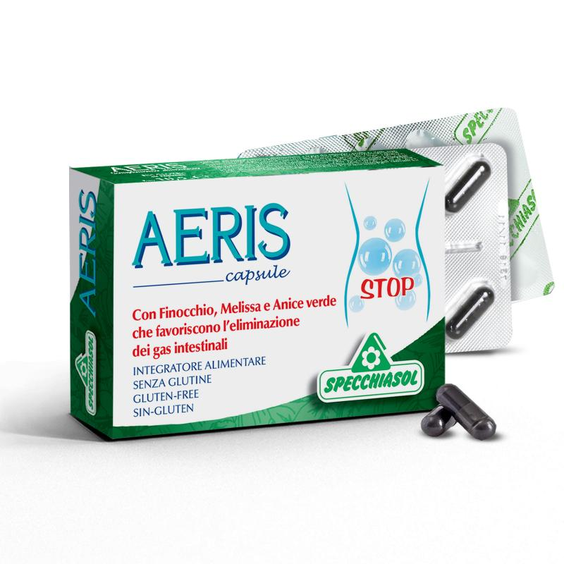 Specchiasol AERIS Puffadás elleni kapszula - 30db