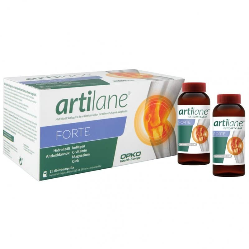 Artilane Forte ivóampulla – 15db