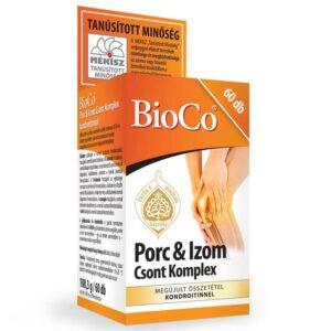 BioCo Porc & Izom Csont Komplex kondroitinnel tabletta – 60db