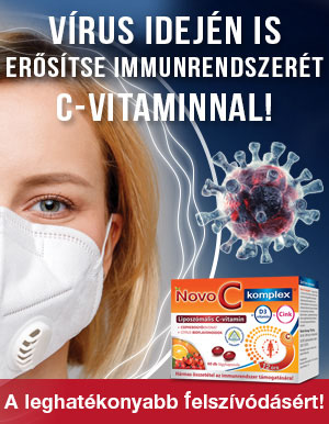 Vírus idején is erősítse immunrendszerét C-vitaminnal! - Novo C Liposzómás C-vitaminok!